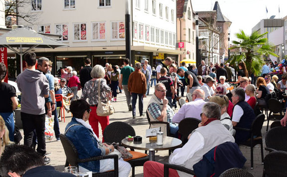 Shoppen in der Singener City